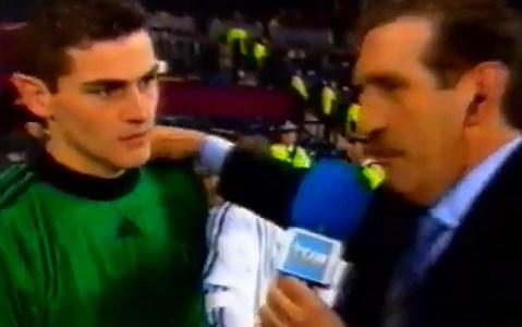 2002, el año en el que Casillas pensaba que no jugaría la final y le dijo a su madre que se quedara en casa.