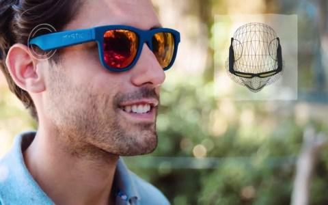 Unas gafas de sol para escuchar música sin auriculares