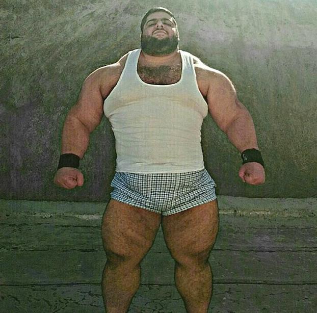 "El ""Hulk"" brasileño reta al ""Hulk"" iraní a una pelea de MMA : ""Le voy a arrancar la cabeza"""