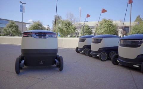 Amazon Scout: el robot que te lleva la comida a casa