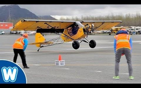 Nuevo record de aterrizaje ultra-corto: menos de 3 metros
