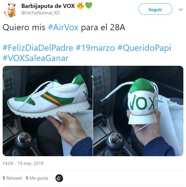 100.000 botas más para VOX