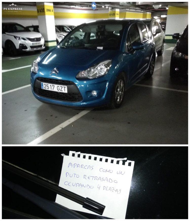 El Final Boss de los retrasados aparcando