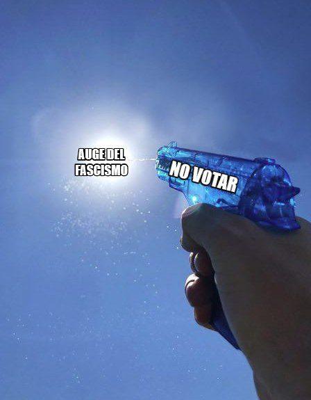 Si votar decidiese algo, estaría prohibido