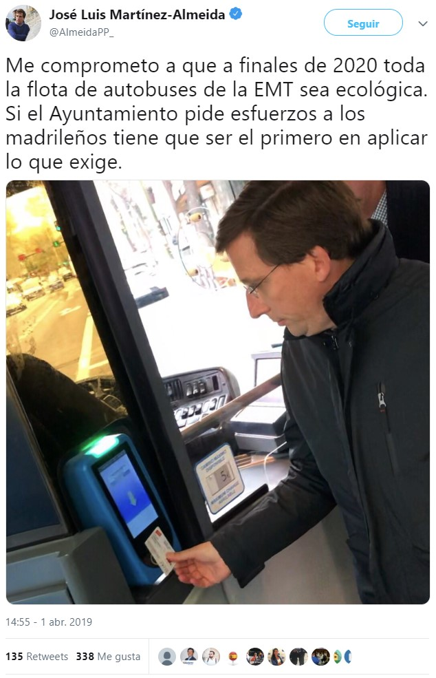El PP tiene propuestas tan buenas para Madrid que ha viajado en el tiempo para hacerlas realidad