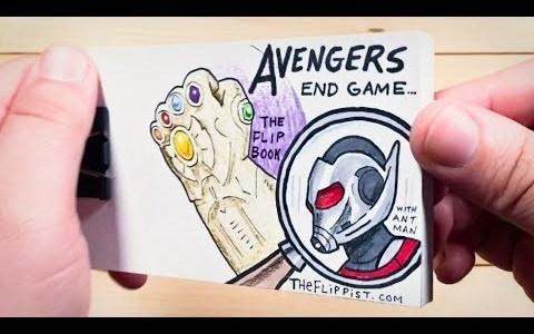 FLIPBOOK: Cómo deseamos todos que acabe la saga de Los Vengadores