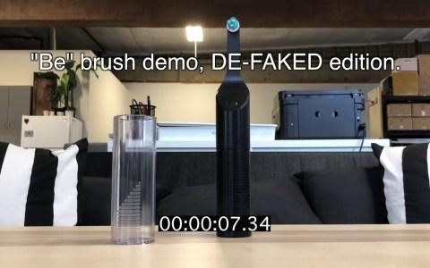 Destapando una estafa: la demostración fake de un cepillo de dientes automático sin batería