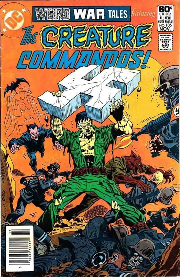 Weird War Tales: El comic bélico con tinte sobrenatural editado por DC comics desde septiembre de 1971 a junio de 1983, con 124 números publicados.