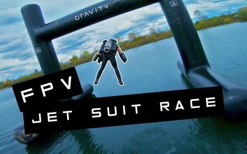 Llegan las carreras de Jet Suit