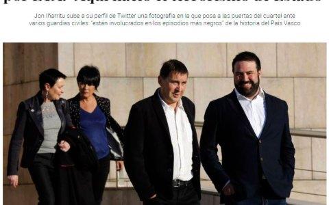 De los creadores de Ciudadanos haciendo campaña en Rentería, llega...