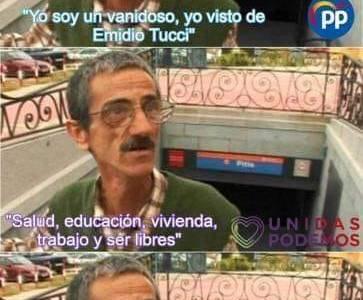 Ramón el Vanidoso aúna todas las cualidades de los principales partidos políticos