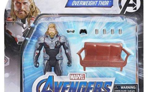 Marvel ya ha actualizado los juguetes de Thor
