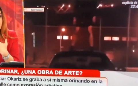 ME-ARTE: España subvenciona a Itziar Okariz con 400.000€ para representarnos en el Pabellón de España en Venecia meando de forma artística.