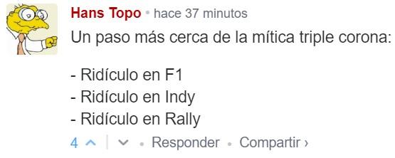 Alonso está oficialmente fuera de la Indy 500, al no haber superado la repesca