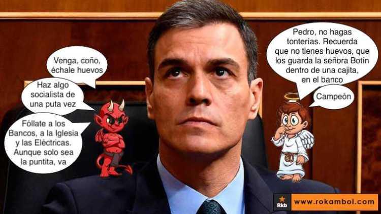 Seguro que PDRO no hace lo contrario a lo que dijo... como ha hecho cada vez que ha hablado desde que entró al PSOE