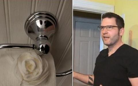 Entran en su casa y en vez de robar la ordenan, hacen las camas, limpian el baño y decoran el papel higiénico