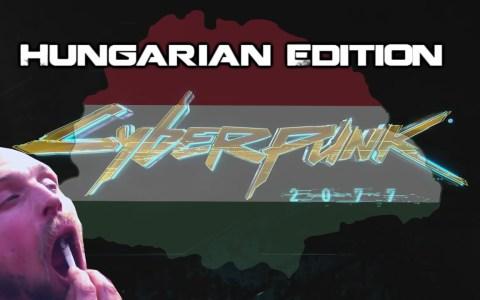 Cyberpunk 2077  Hungarian Edition