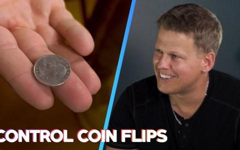 Truco: cómo acertar SIEMPRE de qué lado caerá la moneda