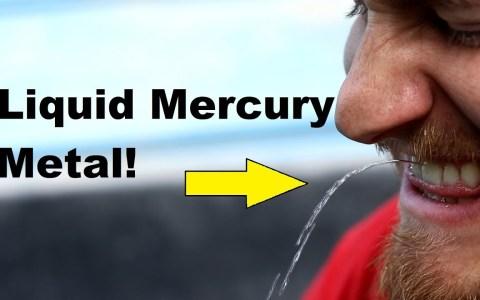 ¿A qué sabe el mercurio?