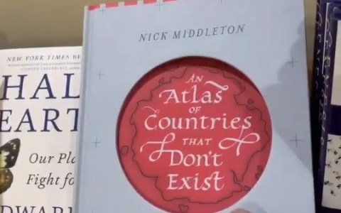"""Atlas de países que no existen"""