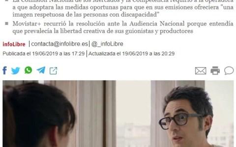 Berto Romero: multa de un crédito por violación del estatuto de moralidad verbal