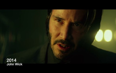 La voz de Keanu Reeves va cambiando con el tiempo