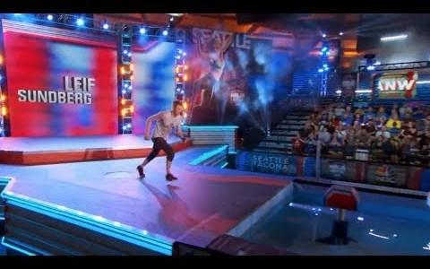 Leif Sundberg completa el circuito de American Ninja Warrior en menos de 1 minuto