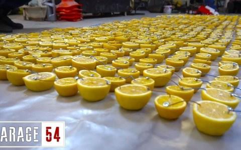 ¿Puede una batería hecha con 1000 limones arrancar un coche?