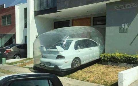Cuando tu Mitsubishi EVO consume tanto que ha creado su propio efecto invernadero