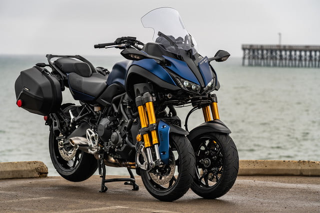 """Yamaha prepara un patinete eléctrico de tres ruedas con tecnología de su moto """"Niken"""""""