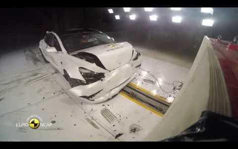 Euro NCAP ha hecho públicos los vídeos del crashtest del Tesla Model 3