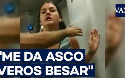 """La mujer que agredió a dos lesbianas que se besaban en el metro da """"su versión"""" de lo sucedido"""