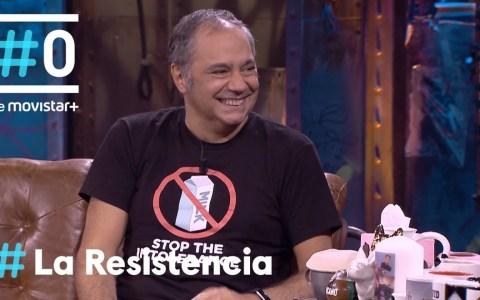 Pepe Colubi visita La Resistencia