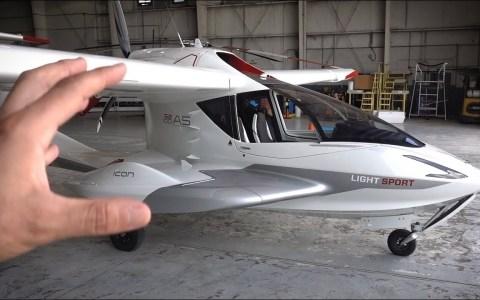 Salomondrin prueba el avión más barato del mundo