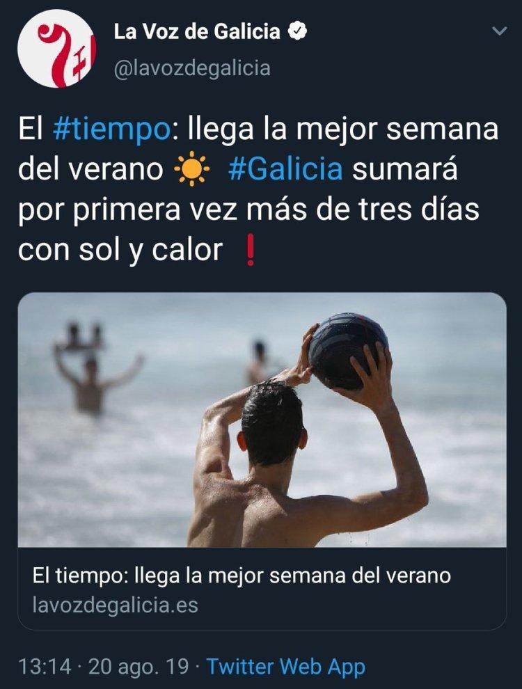 Felicidades a los gallegos