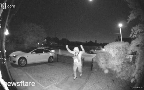 Así de rápido te pueden robar el Tesla si lo aparcas al lado de tu casa