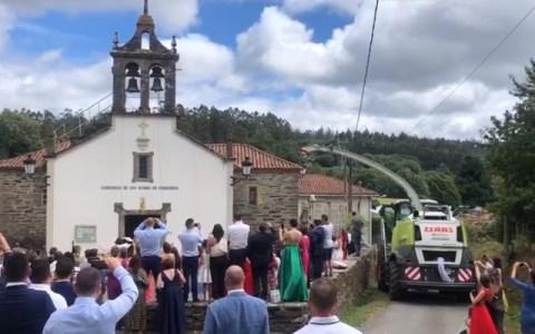 Una boda de pueblo como dios manda
