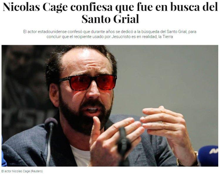 A Nicolas Cage le comió el personaje