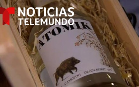 Atomik: el vodka que se elabora con materia prima de la zona restringida de Chernobyl