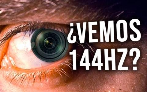 ¿Cuántos FPS ve el ojo humano? ¿Merece la pena un monitor de 120/144 hercios? ¿Y de 240?