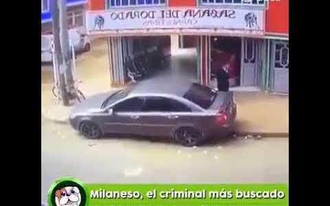 """Estad atentos porque sigue suelto """"el Milaneso"""", un peligroso delincuente"""