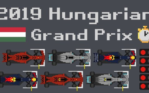 F1 Visualized: Resumen de la carrera de Hungría