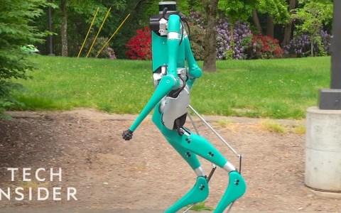 Ford lanza el repartidor robótico del futuro