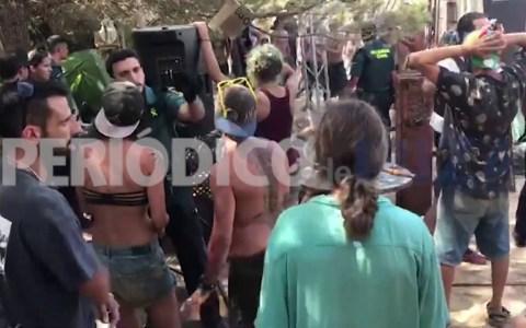 La Guardia Civil desmantela una fiesta ilegal de 24 horas ininterrumpidas