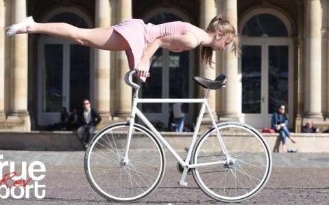 Viola Brand: campeona de Alemania de ciclismo artístico