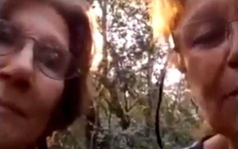 Dos señoras se pierden en la selva de Tucumán y deciden grabar un vídeo contando su aventura