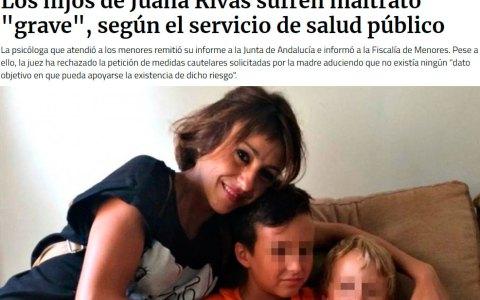 Dos días después de la noticia sobre un informe de psicólogos italianos contra de Juana Rivas, aparece esta noticia en Público
