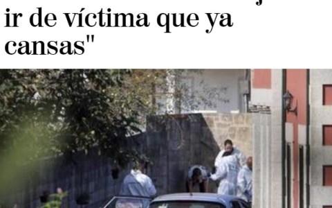 Periódico patriarcal profundizando innecesariamente en las motivaciones de un asesinato obviamente machista