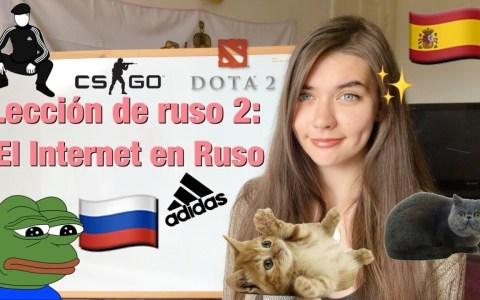 Clase Nº2 del curso de Ruso para Interner by Angelika Seleznova