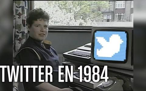 Conectándose a Twitter en 1984